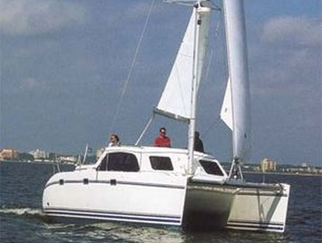 Preowned Sail Catamarans for Sale 1996 Lagoon 35CCC