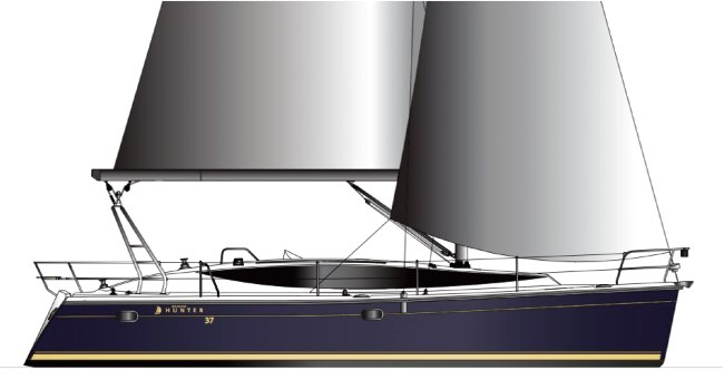 New Sail Monohull for Sale 2014 Hunter 37