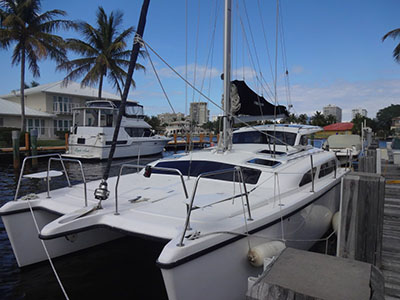 Catamaran for Sale Gemini 105Mc  in Fort Lauderdale Florida (FL)  ALBATROSS II  Preowned Sail
