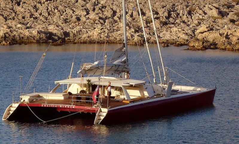 Catamarans PACIFIC BREEZE, Manufacturer: BROOKES BOAT, Model Year: 1998, Length: 75ft, Model: Sail Catamaran, Condition: Used, Listing Status: Catamaran for Sale, Price: EURO 1249000