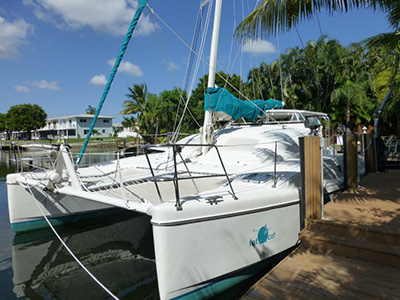 Catamarans FAT CAT, Manufacturer: FORTUNA, Model Year: 1999, Length: 35ft, Model: Island Spirit 35, Condition: USED, Listing Status: Catamaran for Sale, Price: USD 125000