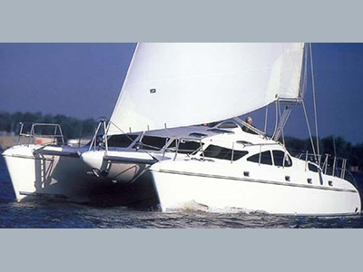Catamarans BLUE MOON , Manufacturer: PROUT, Model Year: 1999, Length: 46ft, Model: Prout 46, Condition: Used, Listing Status: SOLD, Price: USD 279000