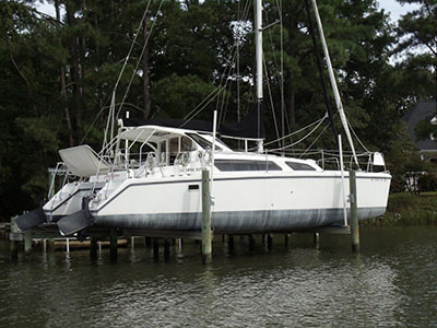 Catamarans FREEDOM, Manufacturer: PERFORMANCE CRUISING, Model Year: 2004, Length: 34ft, Model: Gemini 105Mc, Condition: Used, Listing Status: SOLD, Price: USD 115000