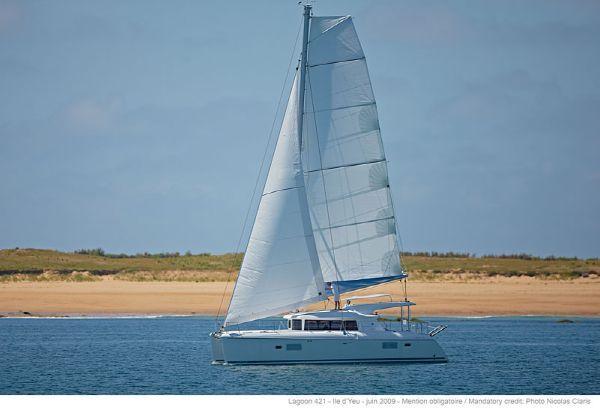 Preowned Sail Catamarans for Sale 2013 Lagoon 421