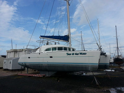 Catamarans TOES IN THE WATER, Manufacturer: LAGOON, Model Year: 2003, Length: 38ft, Model: Lagoon 380, Condition: USED, Listing Status: Catamaran for Sale, Price: USD 165000
