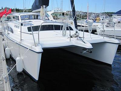 Catamarans 2012 GEMINI 105MC, Manufacturer: PERFORMANCE CRUISING, Model Year: 2012, Length: 34ft, Model: Gemini 105Mc, Condition: USED, Listing Status: SOLD, Price: USD 158000