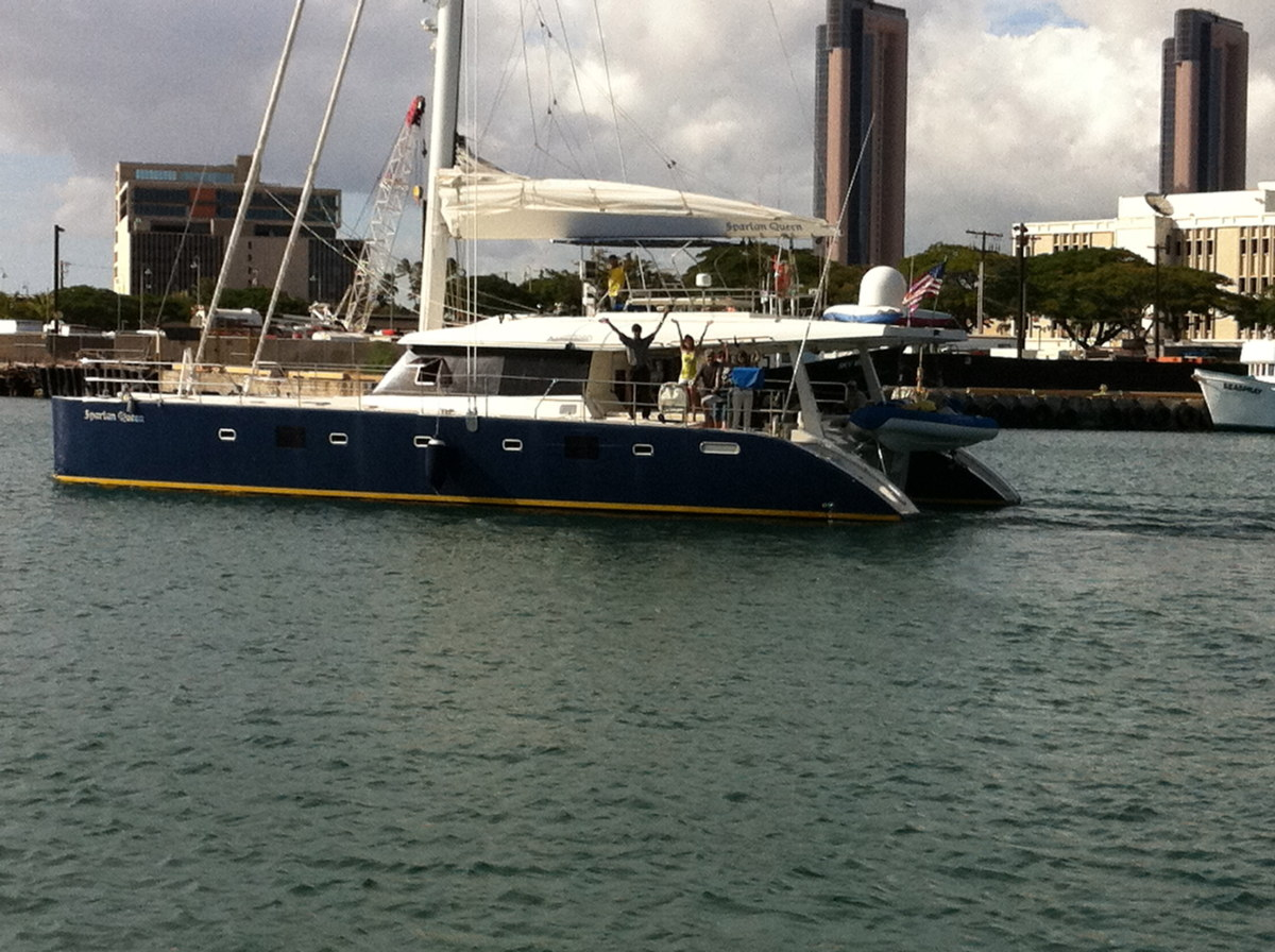 Preowned Sail Catamarans for Sale 2007 Sunreef 60