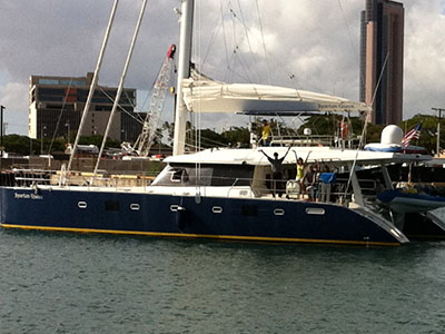 SOLD Sunreef 60  in Honolulu Hawaii (HI)  SPARTAN QUEEN  Preowned Sail