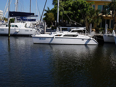 Catamarans ABACAT, Manufacturer: PERFORMANCE CRUISING, Model Year: 2011, Length: 34ft, Model: Gemini 105Mc, Condition: Used, Listing Status: Under Negotiation, Price: USD 164000