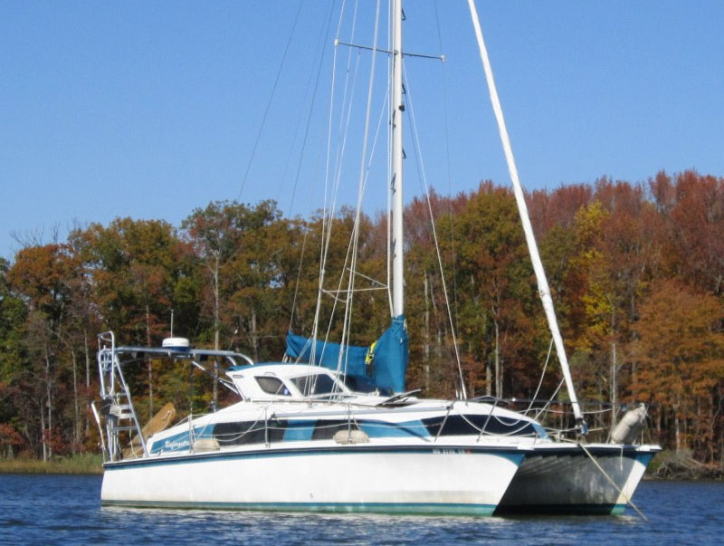 Preowned Sail Catamarans for Sale 1988 Gemini 3000