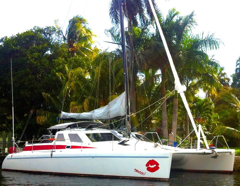 Preowned Sail Catamarans for Sale 1992 Norseman 40