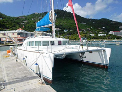 Catamarans PATRON LADY, Manufacturer: LAGOON, Model Year: 2006, Length: 44ft, Model: Lagoon 440, Condition: USED, Listing Status: SOLD, Price: USD 349000