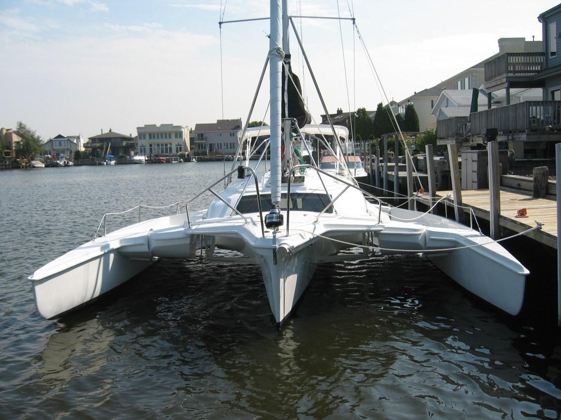 2008 PCI Telstar 28 Cruising Trimaran Sail Boat For Sale - www ...