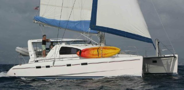 Preowned Sail Catamarans for Sale 2002 Leopard 42