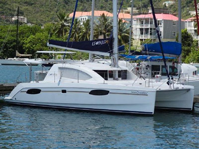 SOLD Leopard 39  in Road Town British Virgin Islands SEA QUESTER Thumbnail for Listing Preowned Sail