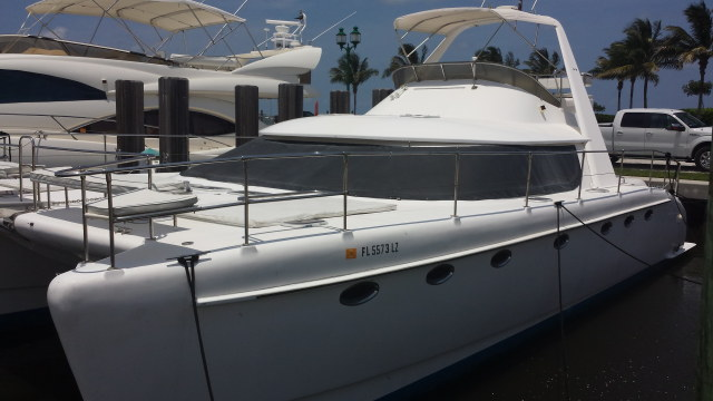 Preowned Power Catamarans for Sale 2002 Prowler 45