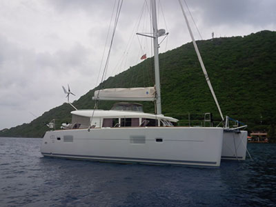 SOLD Lagoon 400 S2  in St. Lucia THE GOOD LIFE Thumbnail for Listing Preowned Sail