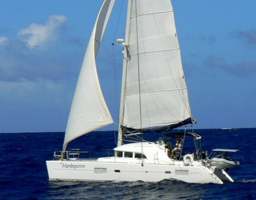 SOLD Lagoon 380 S2  in Fort Lauderdale Florida (FL)  HARLEQUINN  Preowned Sail