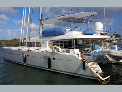SOLD Lagoon 620   in Fort Lauderdale Florida (FL)  WILDBERRY Thumbnail for Listing Preowned Sail