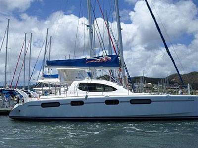 Catamarans JAUDANIC, Manufacturer: ROBERTSON & CAINE, Model Year: 2009, Length: 46ft, Model: Leopard 46 , Condition: USED, Listing Status: SOLD, Price: USD 410000