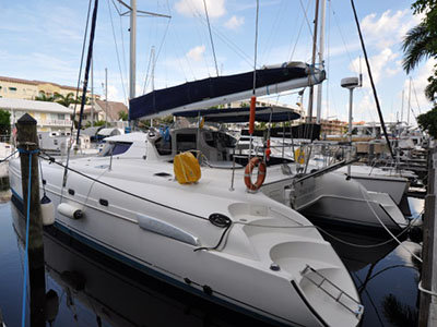 Preowned Sail Catamarans for Sale 2006 Bahia 46