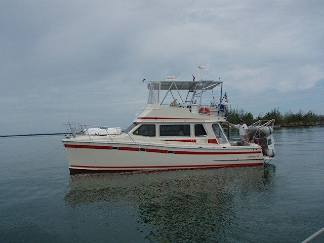 Preowned Power Catamarans for Sale 2006 Scimitar 1010