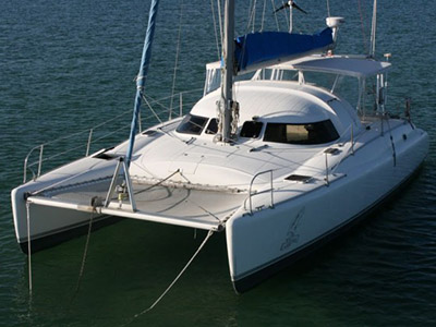 Preowned Sail Catamarans for Sale 1991 Antiqua 37