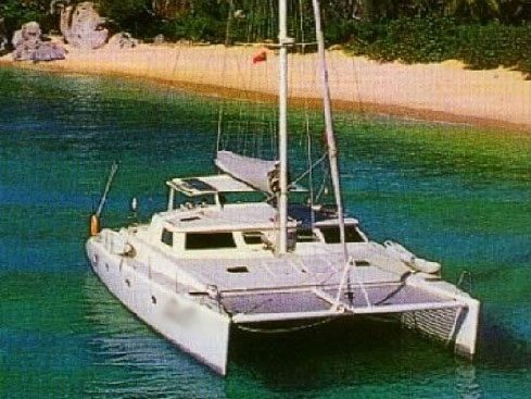 Preowned Sail Catamarans for Sale 1996 Mayotte 500