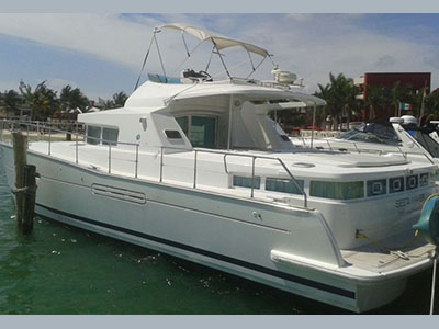 Catamarans DOUBLE EAGLE, Manufacturer: ROBERTSON & CAINE, Model Year: 2001, Length: 47ft, Model: Leopard 47, Condition: USED, Listing Status: Catamaran for Sale, Price: USD 299000
