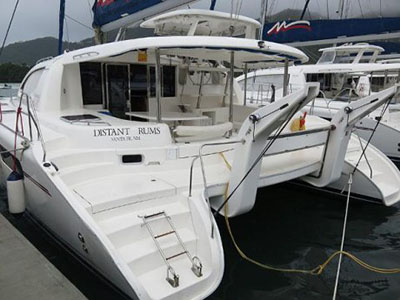 Catamarans DISTANT DRUMS, Manufacturer: ROBERTSON & CAINE, Model Year: 2010, Length: 46ft, Model: Leopard 46 , Condition: USED, Listing Status: SOLD, Price: USD 435000
