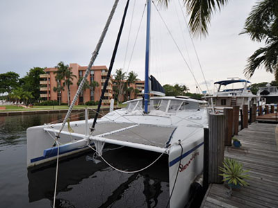 SOLD Gemini 105Mc  in Edgewater Maryland (MD)  WANDERER Thumbnail for Listing Preowned Sail