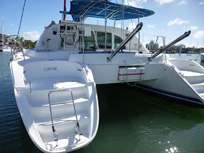 Catamarans LOYNE, Manufacturer: LAGOON, Model Year: 2004, Length: 37ft, Model: Lagoon 380, Condition: USED, Listing Status: SOLD, Price: USD 170000