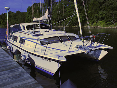 Catamarans TIKI CAT, Manufacturer: PERFORMANCE CRUISING, Model Year: 1993, Length: 32ft, Model: Gemini 3200, Condition: USED, Listing Status: SOLD, Price: USD 61000