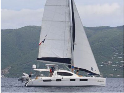 Catamarans SAMPATICO, Manufacturer: ROBERTSON & CAINE, Model Year: 2008, Length: 46ft, Model: Leopard 46 , Condition: USED, Listing Status: Catamaran for Sale, Price: USD 474900