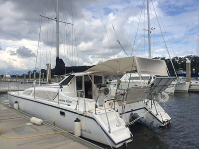 Catamarans WINDWALKER, Manufacturer: PERFORMANCE CRUISING, Model Year: 2008, Length: 34ft, Model: Gemini 105Mc, Condition: USED, Listing Status: Under Contract, Price: USD 139000