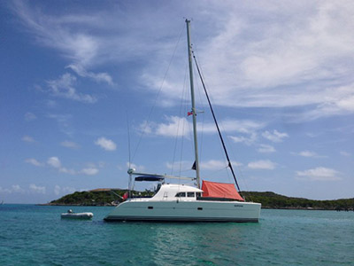 SOLD Lagoon 380  in Fort Lauderdale Florida (FL)  SPOO  Preowned Sail