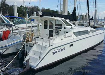 Catamarans BEL ESPRIT, Manufacturer: PERFORMANCE CRUISING, Model Year: 2000, Length: 33ft, Model: Gemini 105M, Condition: USED, Listing Status: Catamaran for Sale, Price: USD 79000