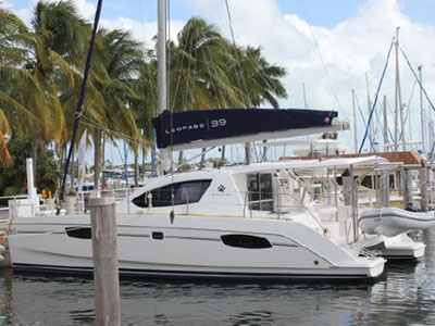 Catamarans LAZY BOAT, Manufacturer: ROBERTSON & CAINE, Model Year: 2014, Length: 37ft, Model: Leopard 39, Condition: USED, Listing Status: Catamaran for Sale, Price: USD 365000