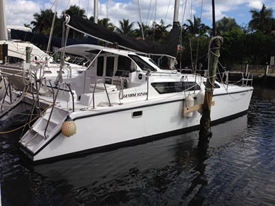 Catamarans MY GIRLS, Manufacturer: PERFORMANCE CRUISING, Model Year: 2008, Length: 33ft, Model: Gemini 105Mc, Condition: USED, Listing Status: SOLD, Price: USD 125000