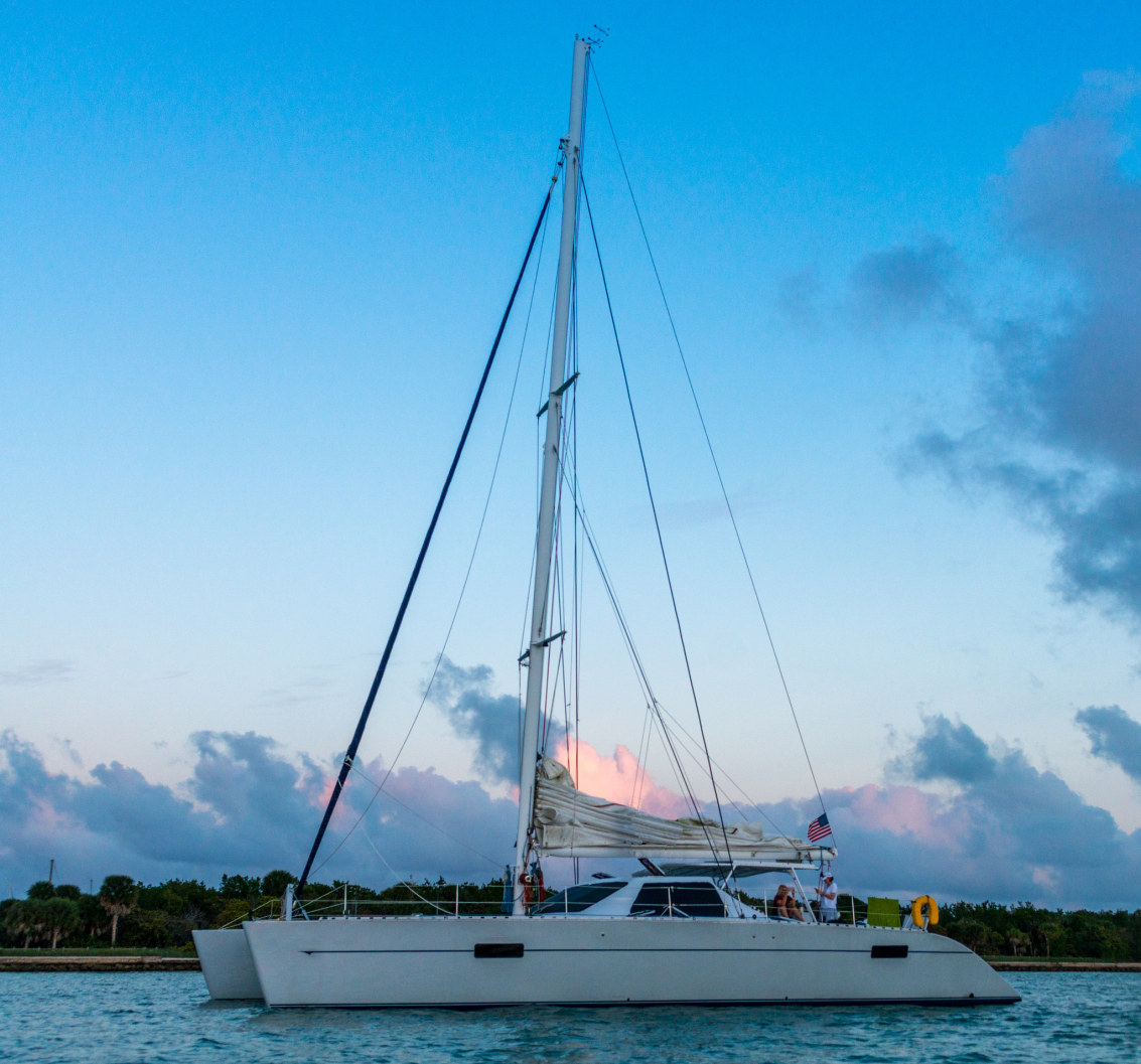 Catamarans TELESTIAL DISTRACTION, Manufacturer: LAGOON, Model Year: 1988, Length: 55ft, Model: Lagoon 55, Condition: Preowned, Listing Status: Catamaran for Sale, Price: USD 950000