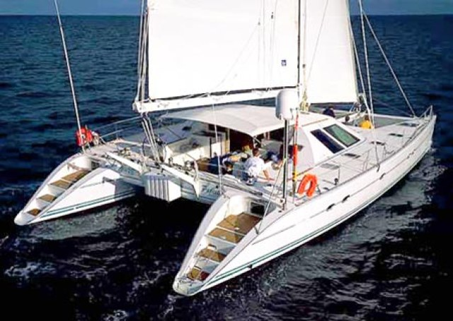 Catamarans TELESTIAL DISTRACTION, Manufacturer: LAGOON, Model Year: 1988, Length: 54ft, Model: Lagoon 55, Condition: USED, Listing Status: Catamaran for Sale, Price: USD 1050000