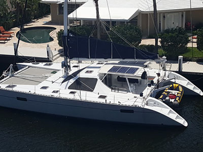 Catamarans TELESTIAL DISTRACTION, Manufacturer: LAGOON, Model Year: 1988, Length: 54ft, Model: Lagoon 55, Condition: USED, Listing Status: Catamaran for Sale, Price: USD 999000
