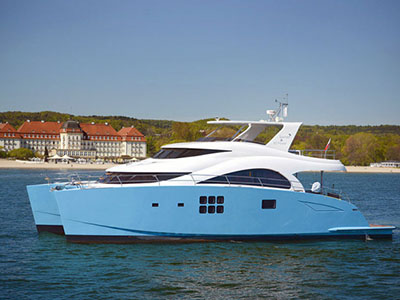 SOLD Sunreef 60 Power  in Istanbul Turkey OCEANS 11 Thumbnail for Listing Preowned Power