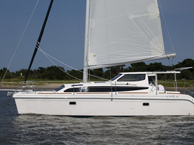 SOLD Legacy 35  in St. Augustine Florida (FL)  OCELOT Thumbnail for Listing Preowned Sail