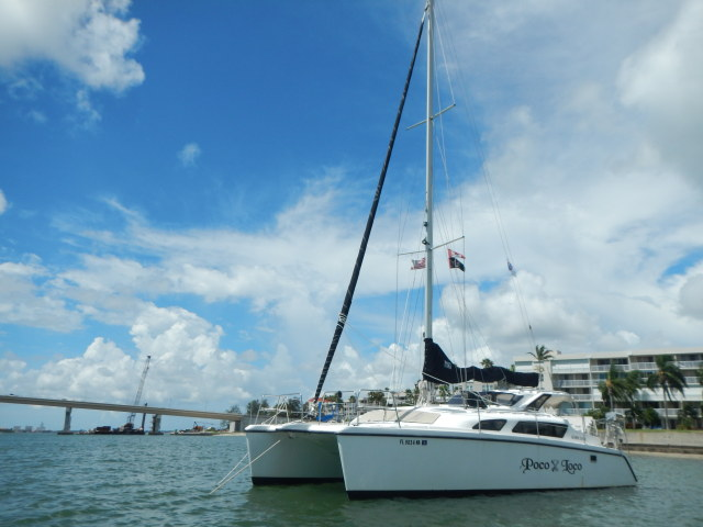 Catamarans POCO LOCO, Manufacturer: PERFORMANCE CRUISING, Model Year: 2006, Length: 34ft, Model: Gemini 105Mc, Condition: USED, Listing Status: Catamaran for Sale, Price: USD 108000