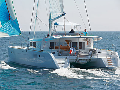 SOLD Lagoon 450  in Fort Lauderdale Florida (FL)  EL JEFE Thumbnail for Listing Preowned Sail
