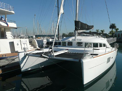 Catamarans BOLERO, Manufacturer: FOUNTAINE PAJOT , Model Year: 2009, Length: 41ft, Model: Lipari 41, Condition: USED, Listing Status: Catamaran for Sale, Price: EURO 195000