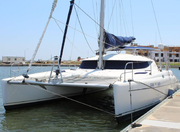 Preowned Sail Catamarans for Sale 1998 Athena 38