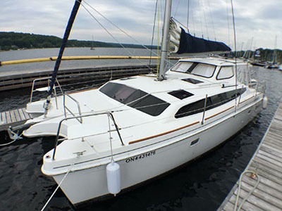 Catamarans ARIANNA, Manufacturer: GEMINI CATAMARANS, Model Year: 2014, Length: 35ft, Model: Legacy 35, Condition: USED, Listing Status: Catamaran for Sale, Price: USD 229000