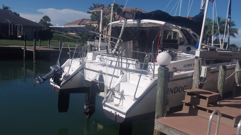 Catamarans WINDOG, Manufacturer: PERFORMANCE CRUISING, Model Year: 2000, Length: 34ft, Model: Gemini 105Mc, Condition: USED, Listing Status: Catamaran for Sale, Price: USD 87000